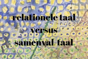 Relationele taal versus samenval-taal