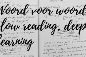 Woord voor woord: slow reading, deep learning